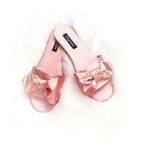 Zigi Soho Pink Sandals New Valiant Satin Slip On 7